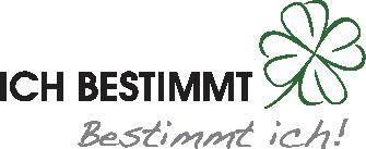 Logo von ICH BESTIMMT